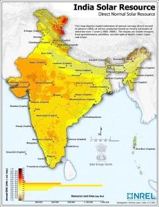Mapa_solar_India